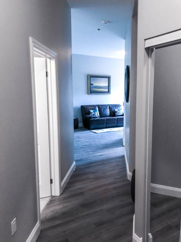 Model Suite Hallway