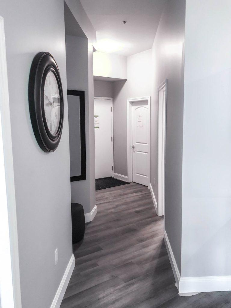 Model Suite Entrance